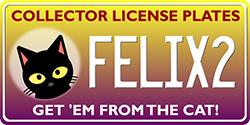 Felix2.com - Collector License Plates